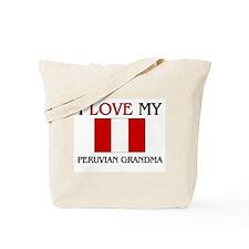 I Love My Peruvian Grandma Tote Bag