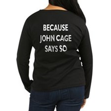 John Cage 4:33 T-Shirt