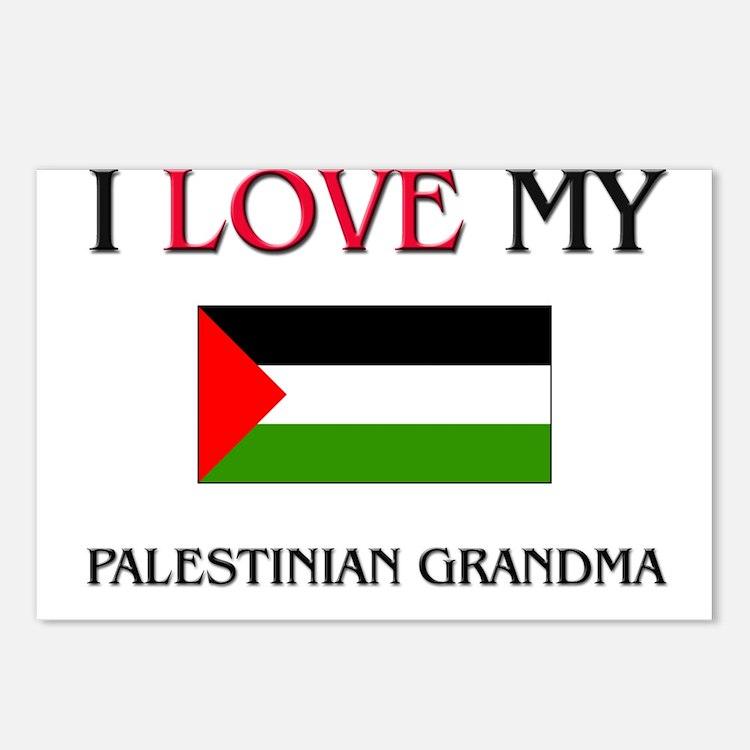 I Love My Palestinian Grandma Postcards (Package o