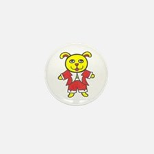 Yellow Dog Mini Button (10 pack)