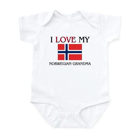 I Love My Norwegian Grandma Infant Bodysuit