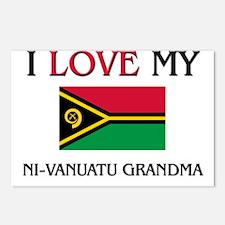 I Love My Ni-Vanuatu Grandma Postcards (Package of