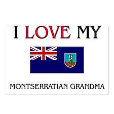 I Love My Montserratian Grandma Postcards (Package