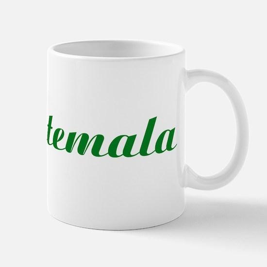 Classic Guatemala (Green) Mug