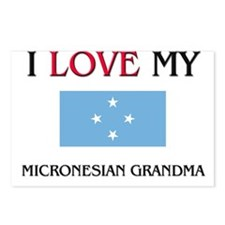 I Love My Micronesian Grandma Postcards (Package o
