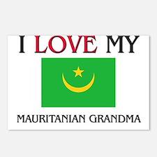 I Love My Mauritanian Grandma Postcards (Package o