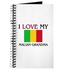 I Love My Malian Grandma Journal