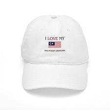 I Love My Malaysian Grandma Baseball Cap