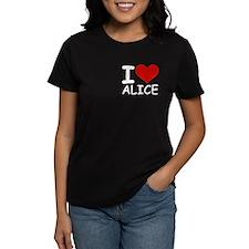 I LOVE ALICE Tee