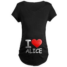 I LOVE ALICE T-Shirt