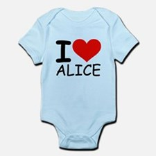 I LOVE ALICE Infant Bodysuit