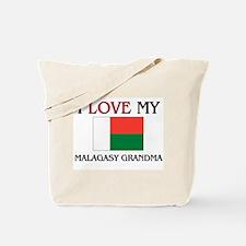 I Love My Malagasy Grandma Tote Bag