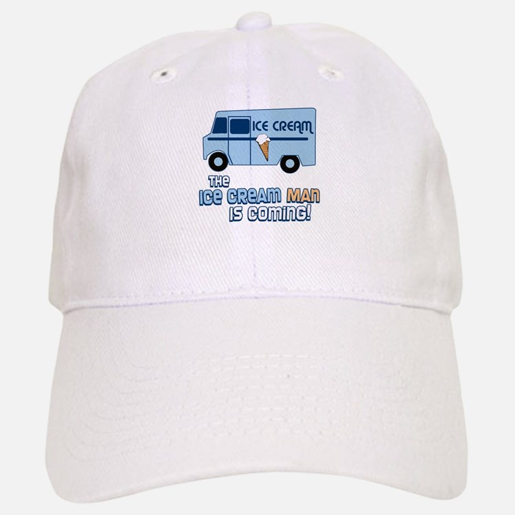 Ice Cream Man Baseball Baseball Cap