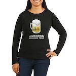 Andorra Drinking Team Women's Long Sleeve Dark T-S