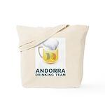 Andorra Drinking Team Tote Bag