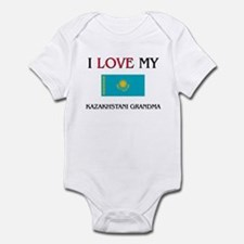 I Love My Kazakhstani Grandma Infant Bodysuit