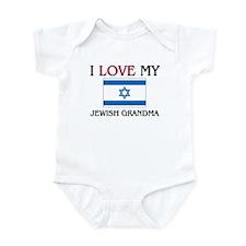 I Love My Jewish Grandma Infant Bodysuit