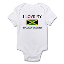 I Love My Jamaican Grandma Infant Bodysuit