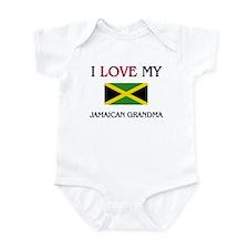 I Love My Jamaican Grandma Onesie