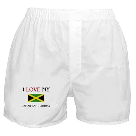 I Love My Jamaican Grandma Boxer Shorts
