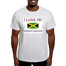 I Love My Jamaican Grandma T-Shirt