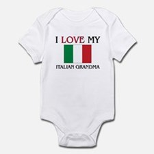 I Love My Italian Grandma Infant Bodysuit