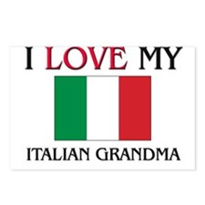 I Love My Italian Grandma Postcards (Package of 8)