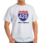 Highway 420 Light T-Shirt