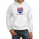 Highway 420 Hooded Sweatshirt