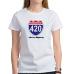 Highway 420 Women's T-Shirt