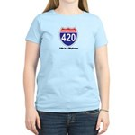 Highway 420 Women's Light T-Shirt