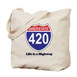 Highway 420 Tote Bag