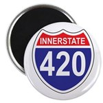 "Highway 420 2.25"" Magnet (100 pack)"