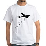 Droppin' F Bombs White T-Shirt