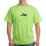 Droppin' F Bombs Green T-Shirt