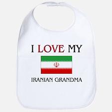 I Love My Iranian Grandma Bib