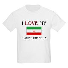 I Love My Iranian Grandma T-Shirt
