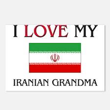 I Love My Iranian Grandma Postcards (Package of 8)