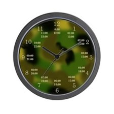 military time camo clock
