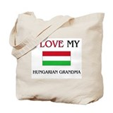 Hungary girl Canvas Bags
