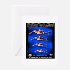 Swimmers 1 Greeting Card