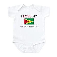 I Love My Guyanese Grandma Infant Bodysuit