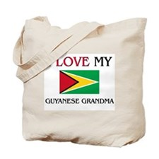 I Love My Guyanese Grandma Tote Bag