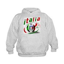 Italia Soccer World Sports Hoodie