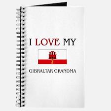 I Love My Gibraltar Grandma Journal