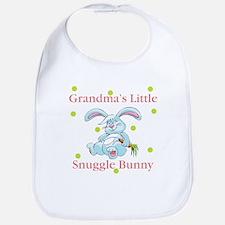 Grandma's Snuggle Bunny Baby Infant Bib