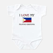 I Love My Filipino Grandma Infant Bodysuit