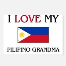 I Love My Filipino Grandma Postcards (Package of 8