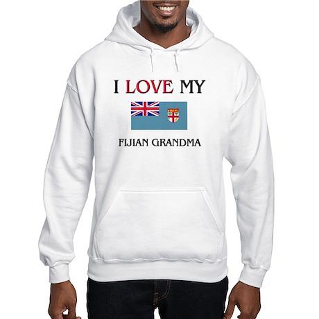I Love My Fijian Grandma Hooded Sweatshirt