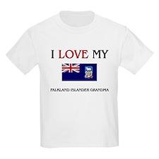 I Love My Falkland Islander Grandma T-Shirt